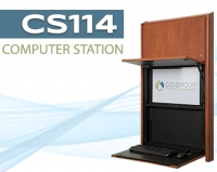 Blog Image of Wall Mounted Computer Station CS114 CCI Group Longview, Texas