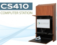 Blog Image of Wall Mounted Computer Station CS410 CCI Group Longview, Texas