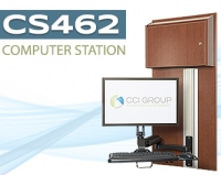 Blog Image of Wall Mounted Computer Station CS462 CCI Group Longview, Texas