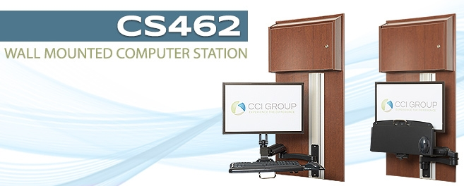 Blog Image for Wall Mounted Computer Station CS462 CCI Group Longview, Texas