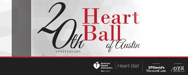 Event Image for 20th Anniversary Heart Ball of Austin CCI Group Longview, Texas